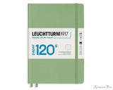 Leuchtturm1917 120g Notebook - A5, Dot Grid - Sage
