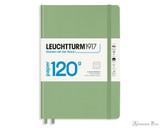 Leuchtturm1917 120g Notebook - A5, Lined - Sage