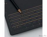 Leuchtturm1917 Bullet Journal Edition 2 - A5, Dot Grid - Black - Grid Closeup