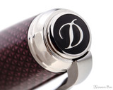 S.T. Dupont Line D Large Fountain Pen - Firehead Guilloche Amethyst -