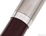 Parker 51 Fountain Pen - Burgundy - Trimband