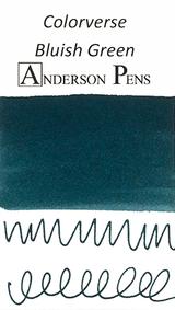 Colorverse Bluish Green Ink (65ml Bottle) - Swab