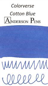Colorverse Cotton Blue Ink (65ml Bottle)