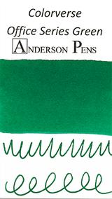 Colorverse Office Series Green Ink (30ml Bottle) - SwabCard