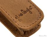 Girologio 1 Pen Case - Saddle Brown - Imprint