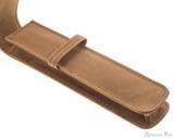 Girologio 1 Pen Case - Saddle Brown - Open