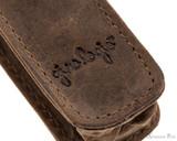 Girologio 1 Pen Case - Bomber Brown - Imprint