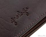 Girologio 12 Pen Case - Oxblood - Imprint