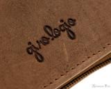 Girologio 12 Pen Case - Saddle Brown - Imprint