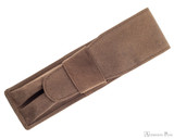 Girologio 2 Pen Case - Bomber Brown