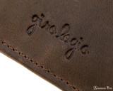 Girologio 4 Pen Case - Bomber Brown - Imprint