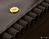 Girologio 12 Pen Case Portfolio - Oxblood - Loops
