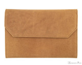 Girologio 12 Pen Case Portfolio - Saddle Brown