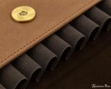 Girologio 12 Pen Case Portfolio - Saddle Brown - Loops