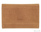 Girologio 12 Pen Case Portfolio - Saddle Brown - Back