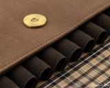 Girologio 12 Pen Case Portfolio - Bomber Brown - Loops
