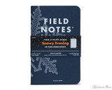 Field Notes Notebooks - Limited Edition Snowy Evening (3 Pack)