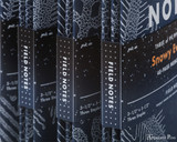 Field Notes Notebooks - Limited Edition Snowy Evening (3 Pack) - Spines
