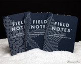Field Notes Notebooks - Limited Edition Snowy Evening (3 Pack) - Spread