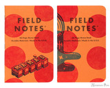 Field Notes Notebooks - LE United States of Letterpress Set A (3 Pack) - Mama Pair