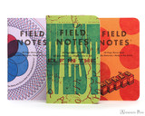 Field Notes Notebooks - LE United States of Letterpress Set A (3 Pack)