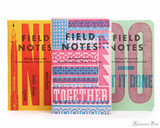 Field Notes Notebooks - LE United States of Letterpress Set B (3 Pack)