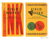 Field Notes Notebooks - LE United States of Letterpress Set B (3 Pack) - Spring Pair
