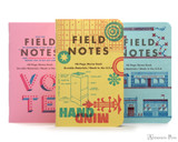 Field Notes Notebooks - LE United States of Letterpress Set C (3 Pack)