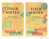 Field Notes Notebooks - LE United States of Letterpress Set C (3 Pack) - Erin Pair