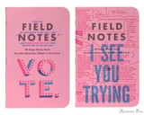 Field Notes Notebooks - LE United States of Letterpress Set C (3 Pack) - Matter Pair