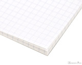 Tomoe River Soft Cover Notebook - A5, Graph - White - Detail
