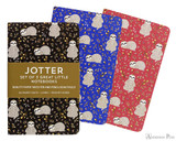 Peter Pauper Press Jotter Mini Notebooks - Sloths (3 Pack)