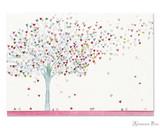 Peter Pauper Press Notecards - 5 x 3.5, Tree of Hearts