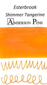 Esterbrook Shimmer Tangerine Ink (50ml Bottle) - Swab
