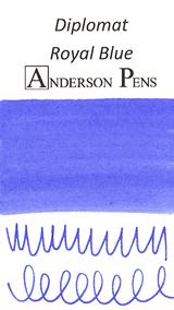 Diplomat Royal Blue Ink Sample (3ml Vial)