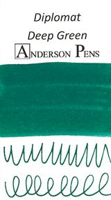 Diplomat Deep Green Ink Sample (3ml Vial)