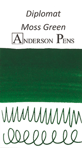 Diplomat Moss Green Ink Sample (3ml Vial)
