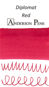 Diplomat Red Ink Sample (3ml Vial)