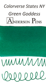 Colorverse USA Series Green Goddess (NY) Ink (15ml Bottle) - Swab