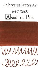 Colorverse USA Series Red Rock (AZ) Ink (15ml Bottle) - Swab