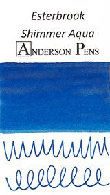 Esterbrook Shimmer Aqua Ink Sample (3ml Vial)