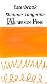 Esterbrook Shimmer Tangerine Ink Sample (3ml Vial)