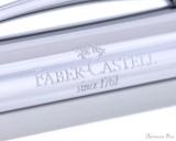 Faber-Castell Ambition Fountain Pen - OpArt Deep Water - Imprint