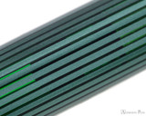 Pelikan Souveran M1000 Fountain Pen - Black-Green with Gold Trim - Pattern
