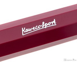 Kaweco Sport Fountain Pen - Deep Red - Imprint 1