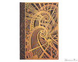 Paperblanks Mini Journal - The Chanin Spiral, Lined