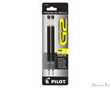 Pilot G2 Rollerball Refill - Black, Fine (2 Pack)