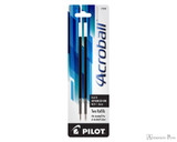 Pilot Acroball Ballpoint Refill - Black, Medium (2 Pack) - Box