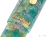 Esterbrook Estie Rollerball - Sea Glass with Gold Trim - Trimband