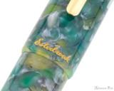 Esterbrook OS Estie Fountain Pen - Sea Glass with Gold Trim - Trimband